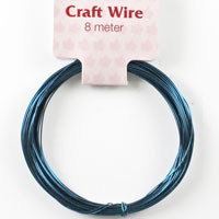 Craft Wire 24 gauge (0.5mm) - Midnight Blue
