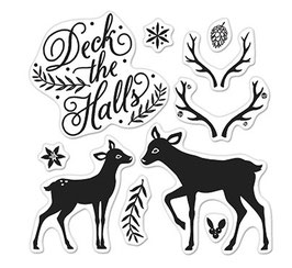 Hero Arts : Deck The Halls by Lia