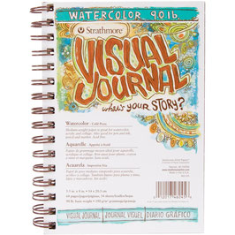 Strathmore Visual Journal: Watercolour