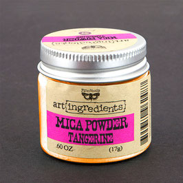Finnabair Art Ingredients Mica Powder - Tangerine
