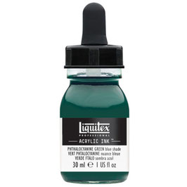 Liquitex Acrylic Ink - Phthalcyanine Green (Blue Shade)