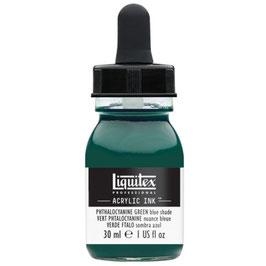 Liquitex Acrylic Ink - Phthalcyanine Green (Blue Shade)
