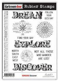Darkroom Door Stamp Set - Discover