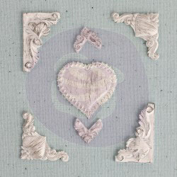 Shabby Chic Treasures Lace Heart