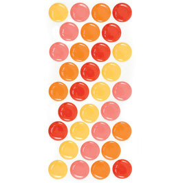 WRMK Enamel Dots: Warm