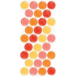 WRMK Enamel Dots: Warm