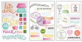 Instascrap Stickers : Chalk