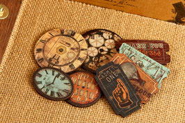 Prima Wood Clocks & Tickets - Craftsman