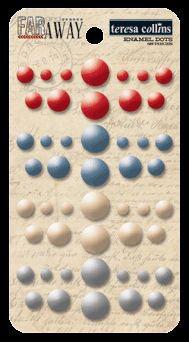 Teresa Collins Far & Away Enamel Dots