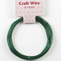 Craft Wire 24 gauge (0.5mm) - Emerald Green