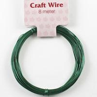 Craft Wire 24 gauge (0.5mm) - Emerald Green