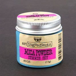 Finnabair Art Ingredients Mica Powder - Summer Sky
