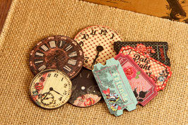 Prima Wood Clocks & Tickets - Rosarian