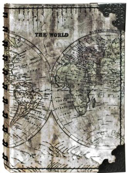 Tim Holtz District Market - Small Spiral Atlas