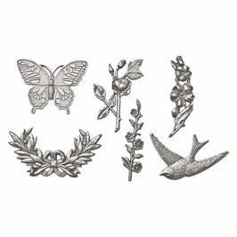 Tim Holtz Idea-ology Adornments - Nature