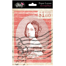 Glitz Design French Kiss Paper Layers