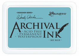 Wendy Vecchi Archival Ink: Sky Blue