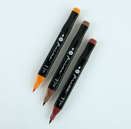 Prima Palette Marker Set: Auburn