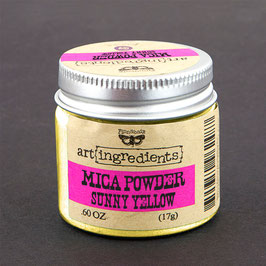 Finnabair Art Ingredients Mica Powder - Sunny Yellow