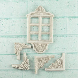Prima Resin Architecture Window Decor