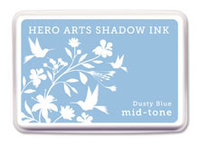 Hero Arts Dusty Blue Mid Tone Shadow Ink Pad