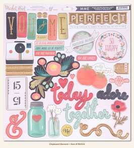 MME Market Street - Ashbury Heights Chipboard Elements