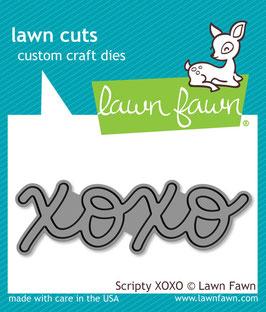 Lawn Fawn: Lawn Cuts Scripty XOXO Die