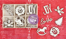 Prima Wood Icons In A Box: Christmas