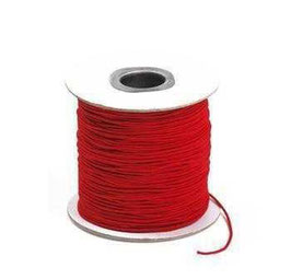 Coloured Elastic Cord - Scarlet