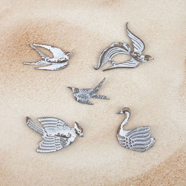 Prima Metal Patina Trinkets - Birds