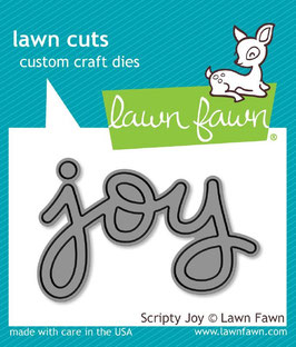 Lawn Fawn: Lawn Cuts Scripty Joy