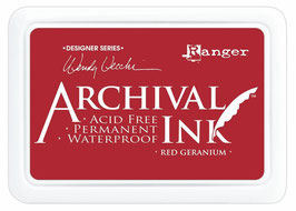 Wendy Vecchi Archival Ink : Red Geranium ReInker