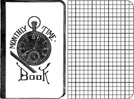 Jenni Bowlin Stamps - Time Book
