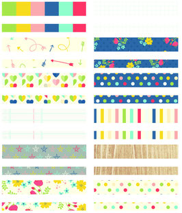 Simple Stories Life Documented Designer Washi Tape