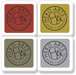 Hero Arts HeroHues Metallic Cube 4 pk