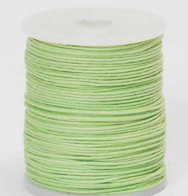 Lime waxed cord