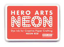 Hero Arts Neon Ink Pad - Neon Red