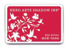Hero Arts Red Royal Mid Tone Shadow Ink Pad
