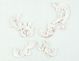 Shabby Chic Treasures Swirls