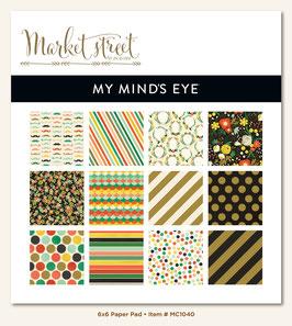 MME Market Street - Nob Hill 6x6 Paper Pad