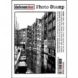 Darkroom Door Photo Stamp: Canal