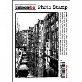 Darkroom Door Photo Stamp: Canal