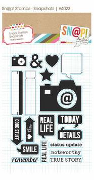 Simple Stories Snapshot Stamp Set #4023