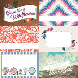 Carta Bella Wildflower : 4x6 Journaling Cards