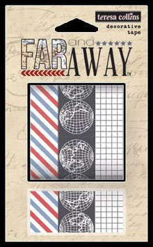 Teresa Collins Far & Away Decorative Tape