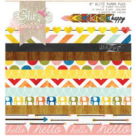 Glitz Design: Color Me Happy 6x6 Paper Pad