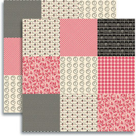 Jenni Bowlin Red/Black Collection 2012: Mini Pattern