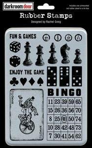 Darkroom Door Stamp Set - Fun & Games
