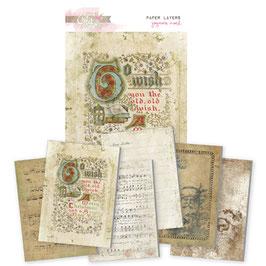 Glitz Design Joyeux Noel Paper Layers