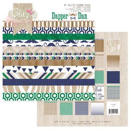 Glitz Design Dapper Dan 6x6 Paper Pad